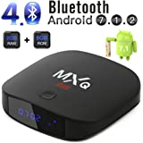 2018 Leelbox Android 7.1 TV Box with 2GB+8GB BT 4.0 Support 4K (60Hz)/H.265/WiFi