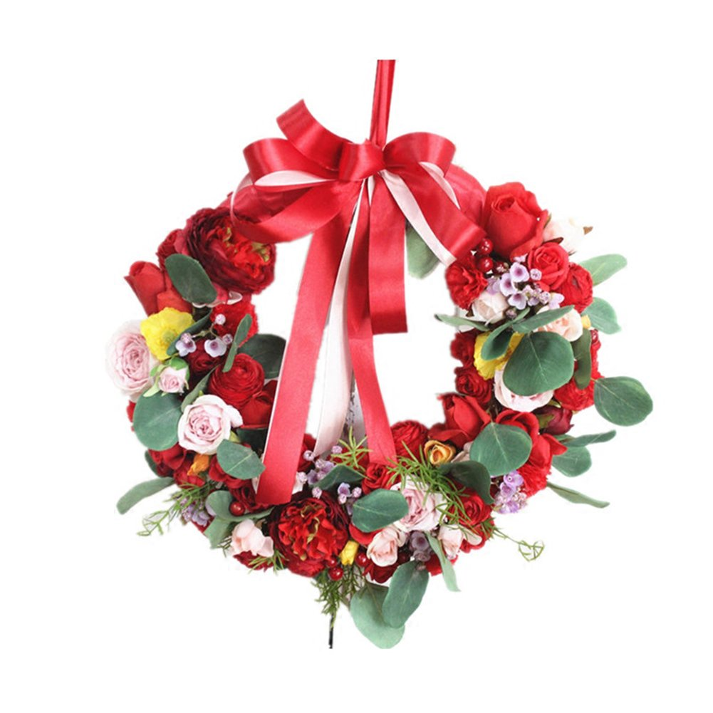 Etbotu Cloth Wreath Hanger,Decoration for Door Wall Wedding