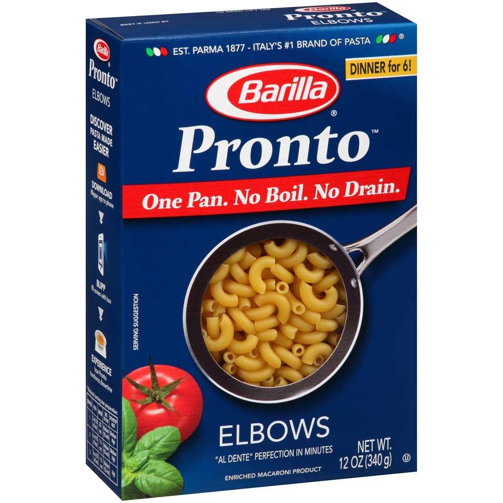 Pronto Elbows Pasta, 12 Ounce - 16 per case.