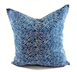 Cameron Premier Navy & white Pillow cover. Sham cover. throw Pillow cover. Select size.