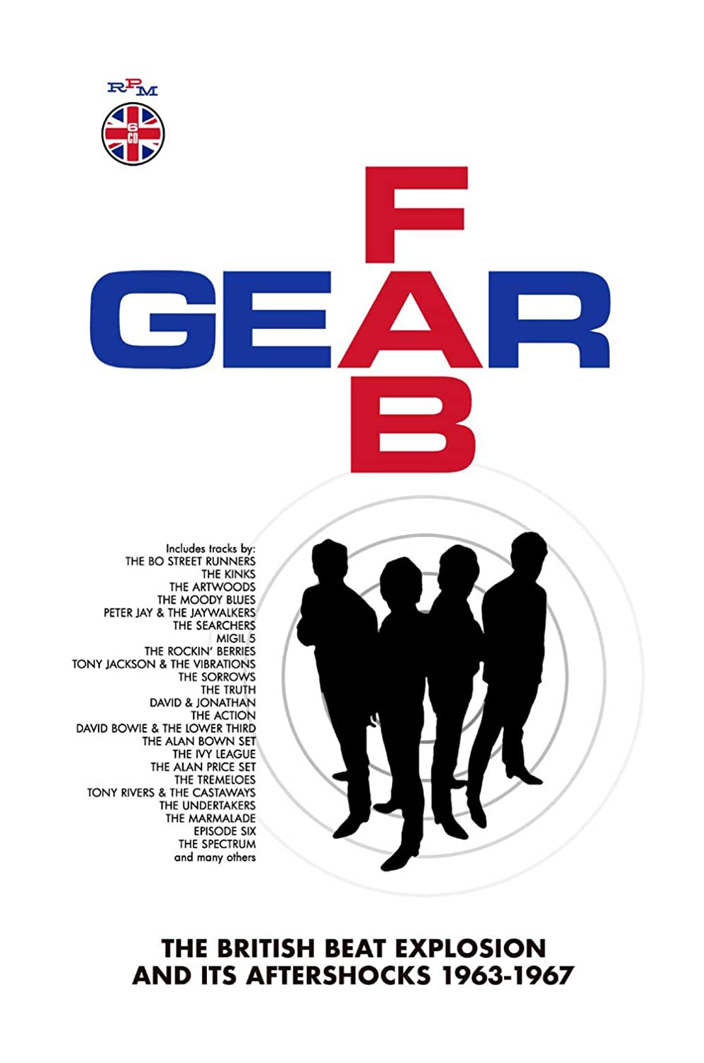 Fab Gear-the British Beat Explosion (6cd Boxset) - Various: Amazon ...