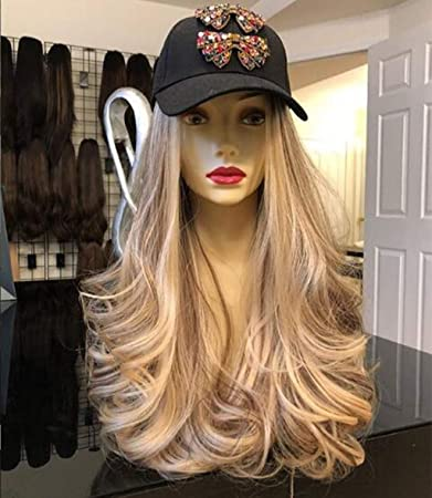 Amazoncom Blonde Wigs Heat Resistant Hair Gold Wigs For Women