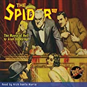 Spider #28 January 1936 | Grant Stockbridge,  RadioArchives.com