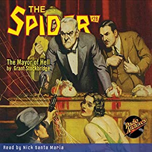 Spider #28 January 1936 Audiobook