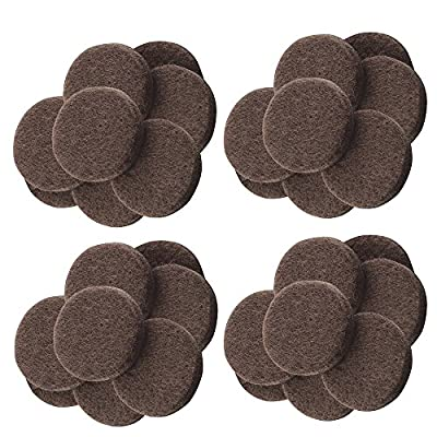 BTMB 1.5 inch Felt Furniture Pads 80Pcs Felt Pads Furniture Feet Your Best Wood Floor Protectors. Protect Your Hardwood Flooring