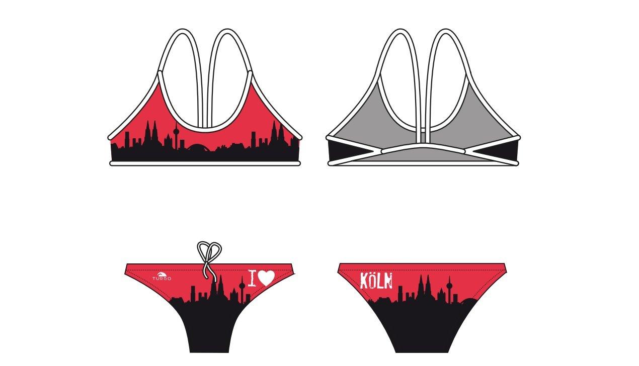 Turbo Power Natación de Bikini Set Köln swimkini Thin Strap para Deportes de Nadar Entrenamiento Navegar por: Amazon.es: Deportes y aire libre