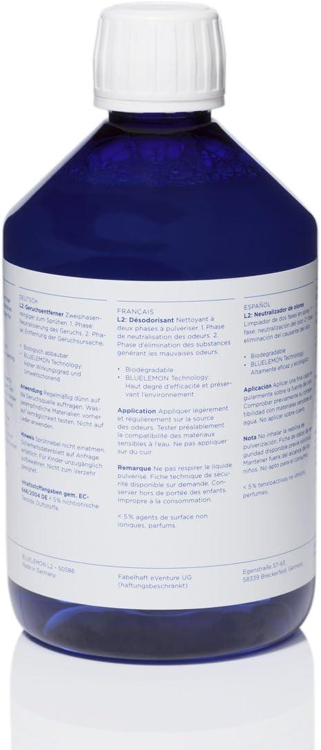 BLUELEMON Professional Neutralizador de olores 500ml L2 Biológico ...