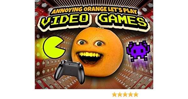 Amazon.com: Clip: Annoying Orange Lets Play Video Games!: Dane Boedigheimer