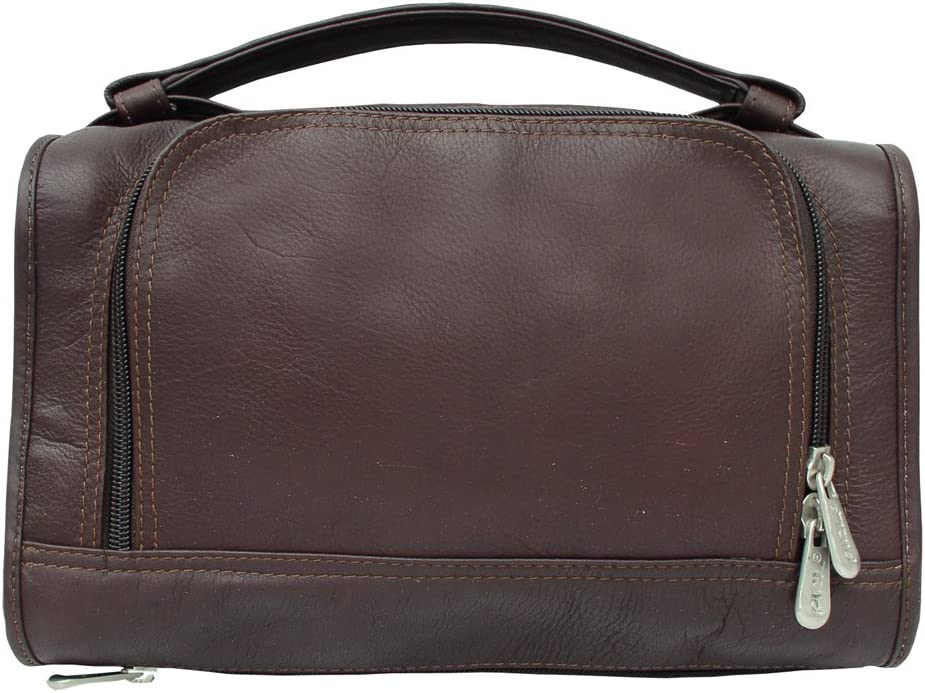 Utility Kit w Water Resistant Interior in Chocolate