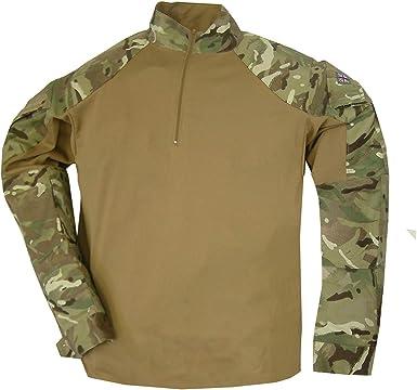 Camisa de Camuflaje para MTP del ejército británico UBACS CS95: Amazon.es: Ropa y accesorios