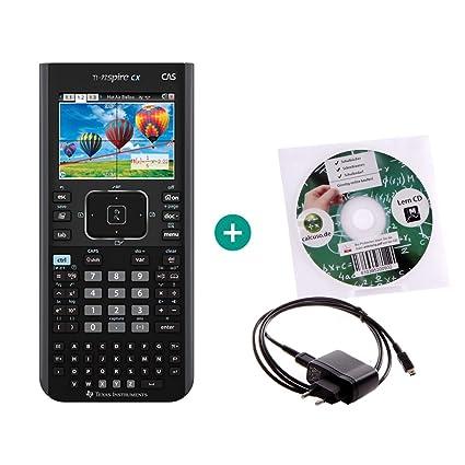 TI-Nspire CX CAS + Cable cargador + CD de aprendizaje ...