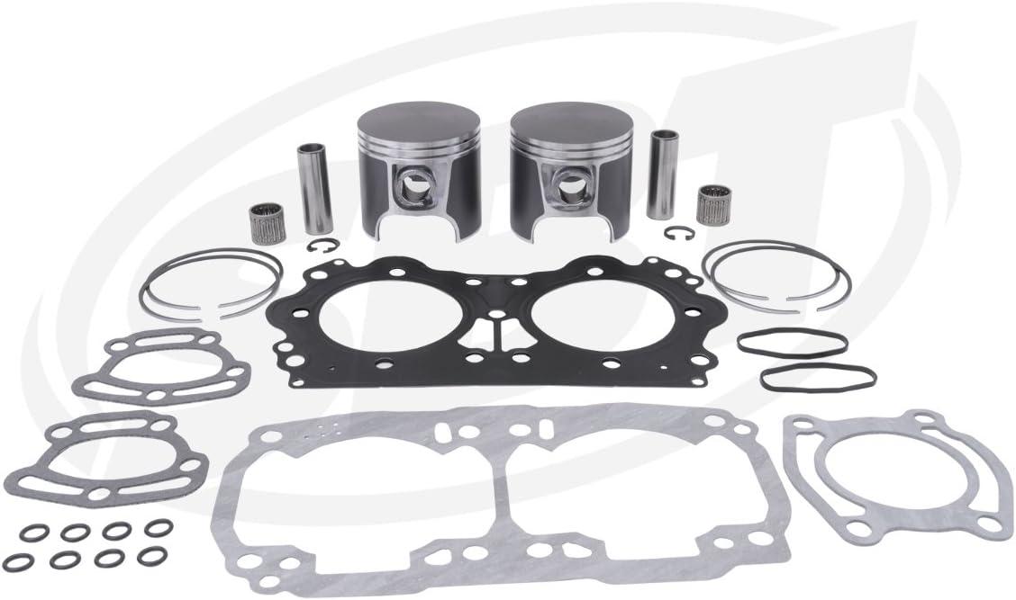 Silver Engine Sea Doo 947//951 Top End Kit STD size GSX-L//GTX//XP LTD//VSP-L//Sport LE//RX//LRV 2001 /& Up