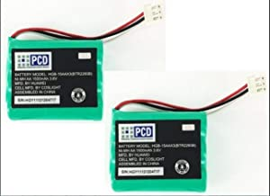 GSParts (2X) New OEM Battery for Huawei Home Phone Connect BTR2260B HGB-15AAX3 1500mAh