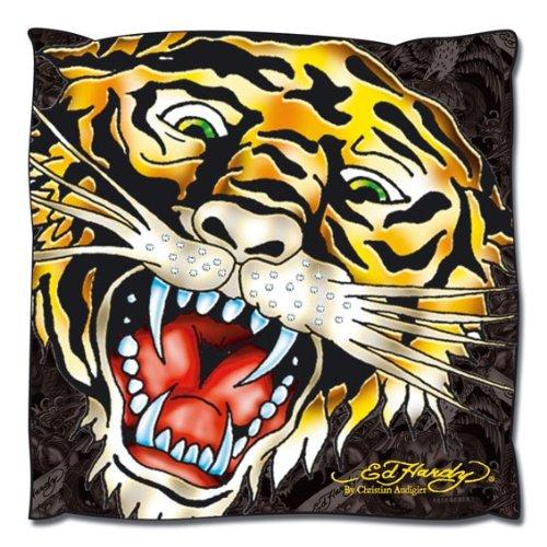 Ed Hardy 10330500 cojín brillantes Tiger, 50 x 50 cm: Amazon ...