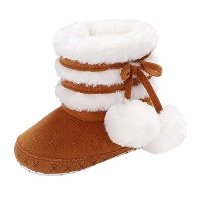 Botas de Nieve para el Primer Paso del bebé, Botas de Nieve para