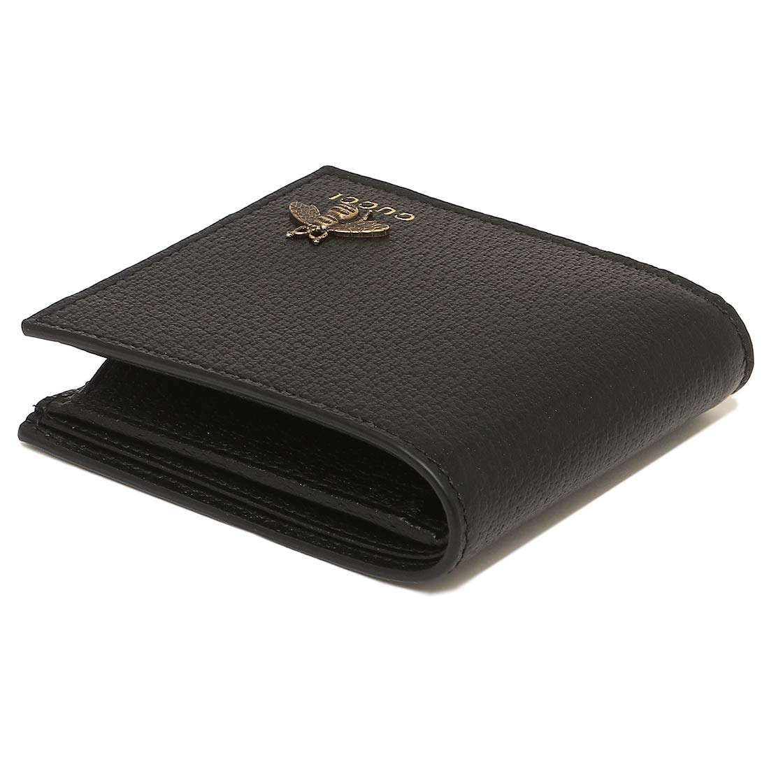 18d257c19df1 Amazon | [グッチ]折財布 メンズ GUCCI 522915 DJ20T 1000 ブラック [並行輸入品] | GUCCI(グッチ) | 財布