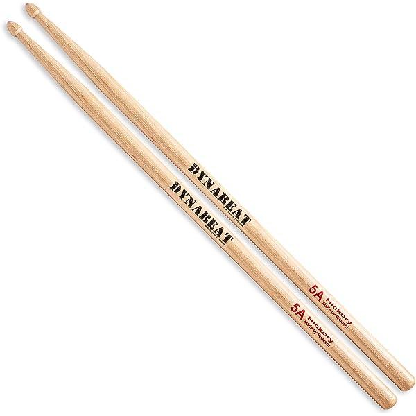 SODIAL(R) Par de 5A Baquetas de madera de arce Juego de palo para tambor Ligero Profesional: Amazon.es: Juguetes y juegos