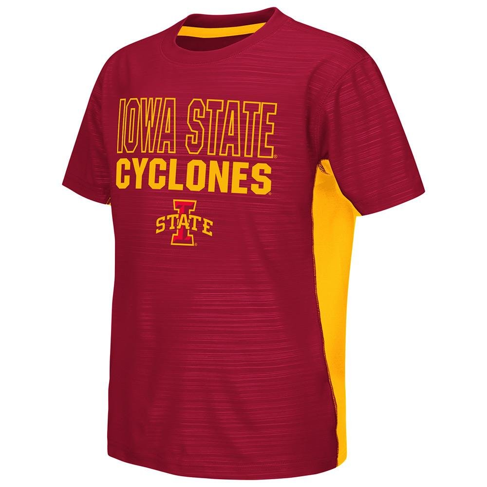Youth NCAA Iowa State Cyclones Short Sleeve Tee Shirt Team Color