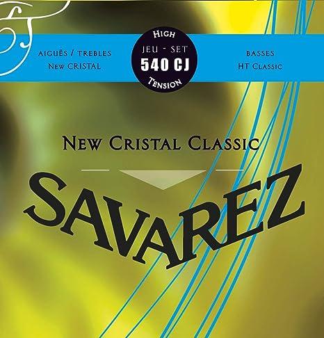 Savarez 656157 - Cuerdas para Guitarra Clásica New Cristal Classic ...