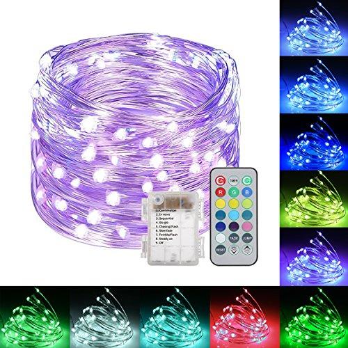 Led Christmas Lights Purple Blue - 9