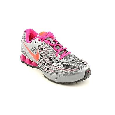Nike Women's Reax Run 7 Running Training Shoes-Gray/Pink ...