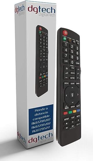 DigitalTech® - Mando a Distancia de sustitución para LG ...