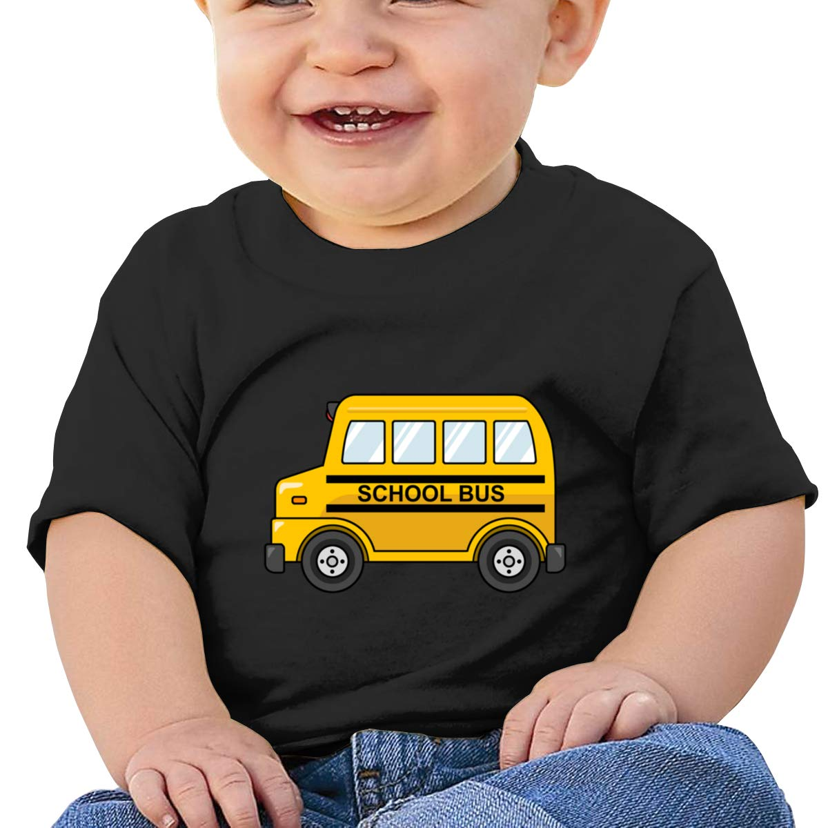Small School Bus Short-Sleeve Tee Baby Boy