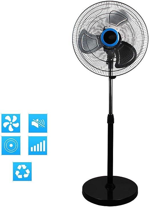 S-AIM Ventilador de Pedestal, Ventilador de pie Ajustable en ...