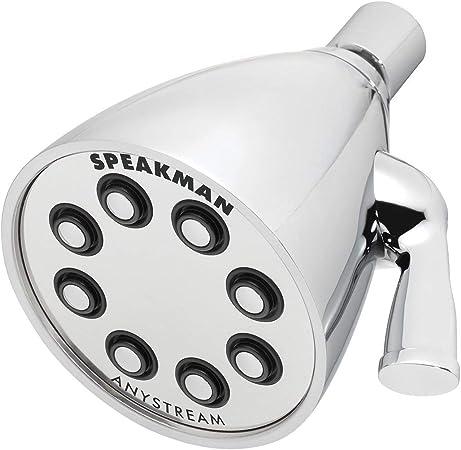 Polished Chrome Speakman S 2005 Hb E175 Hotel Shower Head 1 75 Gpm Fixed Showerheads