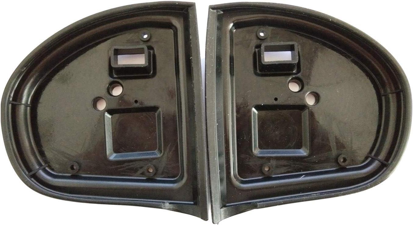 2006 Haude Gummidichtungen f/ür Au/ßenspiegel links und rechts 2009 C-Klasse W203 2000 f/ür Mercedes E-Klasse W211 2002
