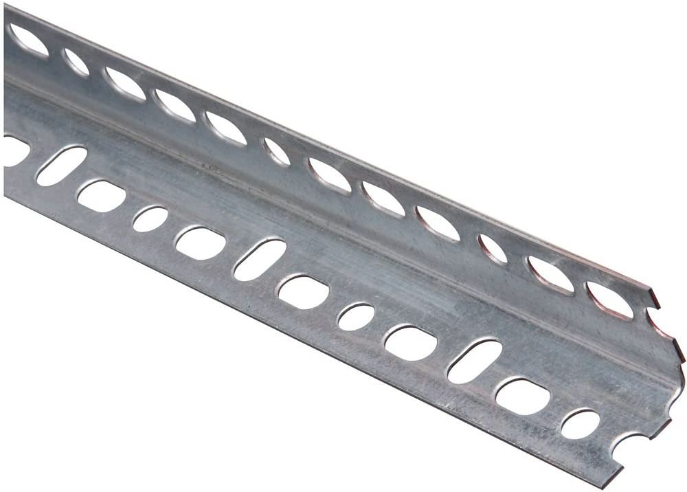 National Hardware N341-123 4021BC Slotted Angle in Galvanized,1-1/4