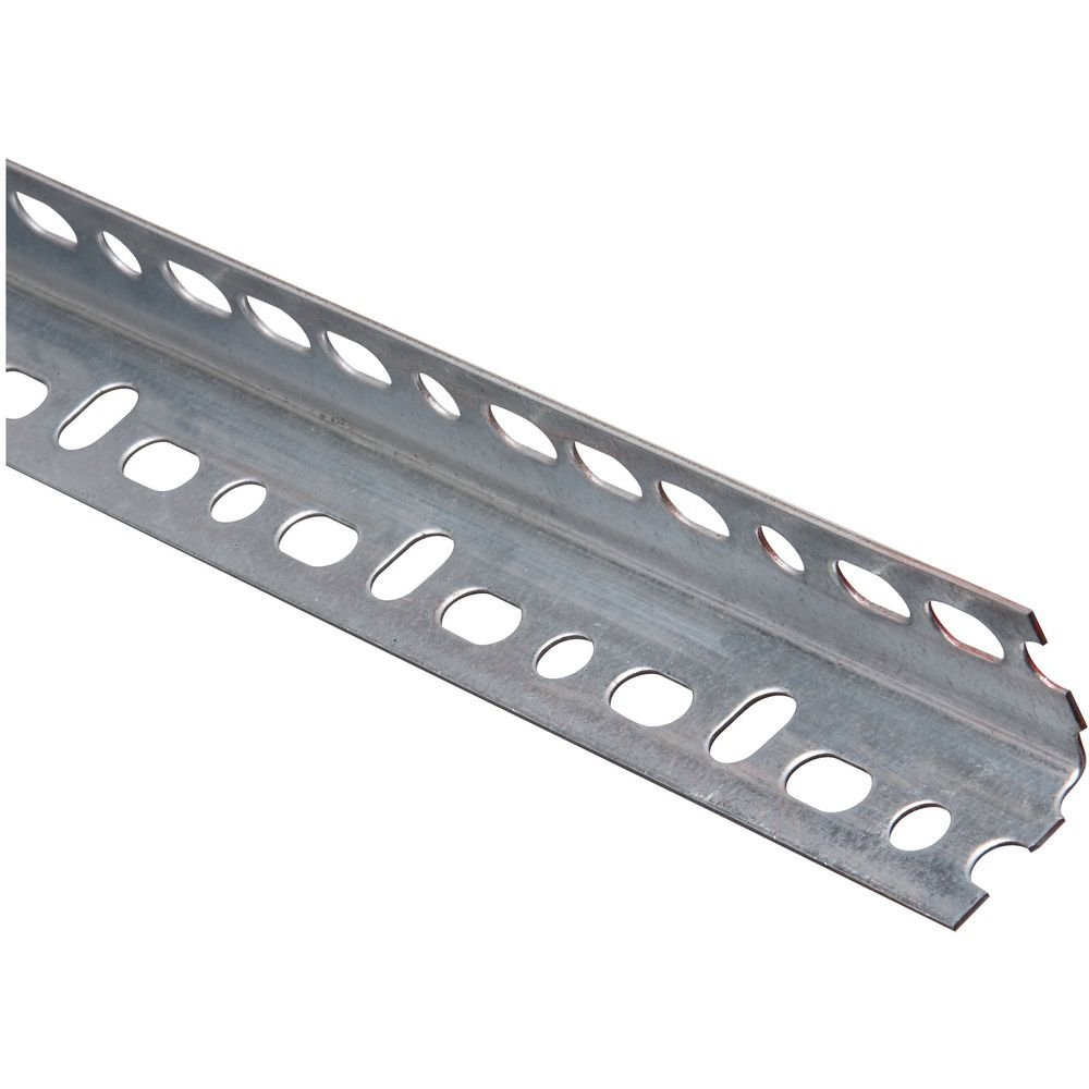 National Hardware N341-123 4021BC Slotted Angle in Galvanized, 1-1/4'' x 36''
