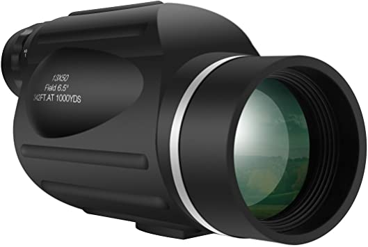 GOMU 13X50 Monocular 114M//1000M Outdoor Telescope Birdwatching Fishing Hunting
