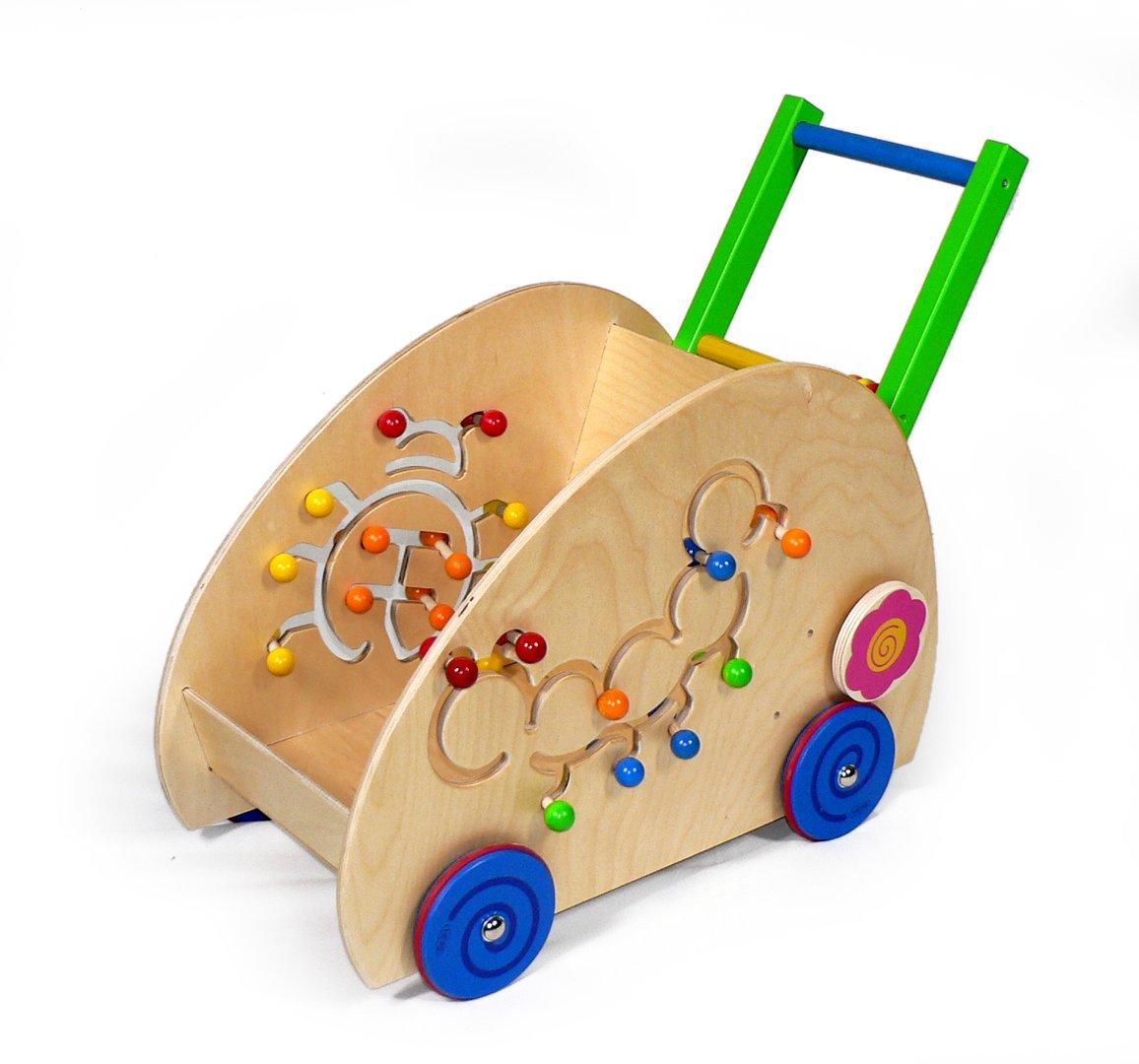 Corra el aprendizaje del coche, escarabajo/correa-tipo vehículo 520 x 300 x 380 corridos OTRA VEZ aprendiendo la madera del coche del funcionamiento de la ayuda