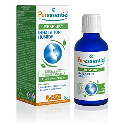 Laboratoire Puressentiel Inhalation Humide Respiratoire: Amazon.fr ...