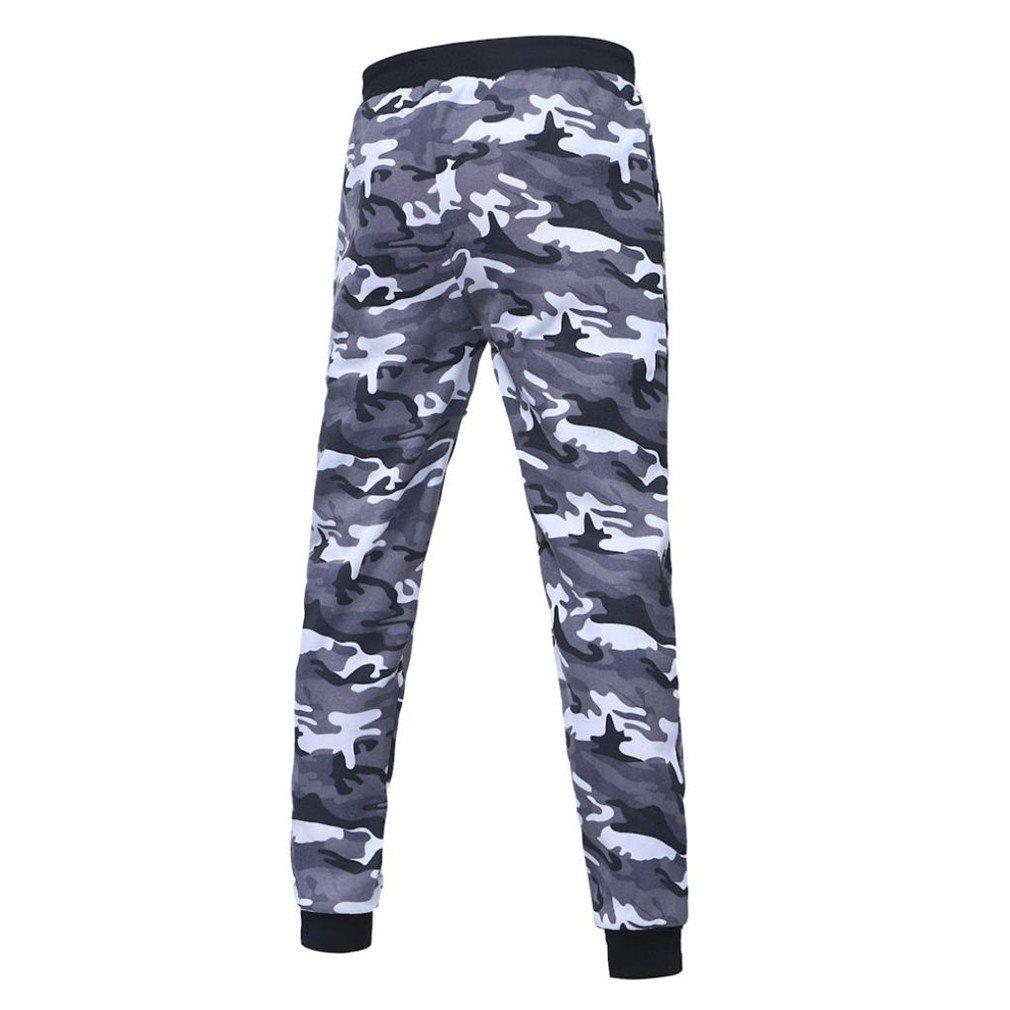 8d2f5bf866b0d ❉ Pantalon Camouflage Pantalons De Sport Pantalons Chino Pantalons Grande  Taille Homme Pantalons Jogging Pantalons Plein ...