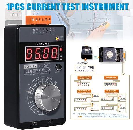 New Digital 4-20mA 0-10V Voltage Signal Generator 0-20mA Current Transmitter
