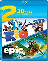 Rio / Epic Double Feature Blu-ray 3d by 20th Century Fox