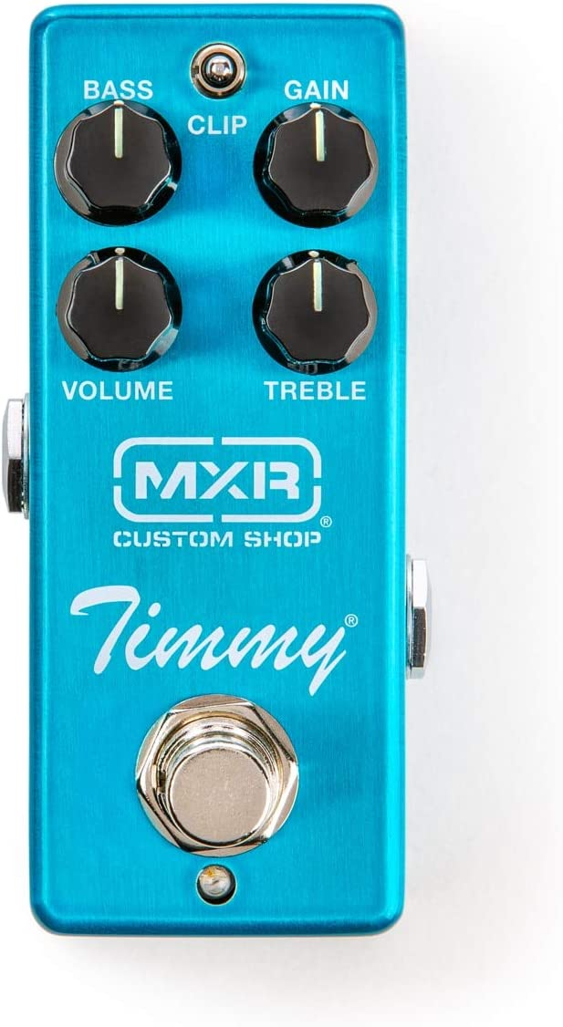 MXR CSP027 Timmy Overdrive Pedal Bundle with 2 MXR Patch Cables and Dunlop Variety Pick Pack
