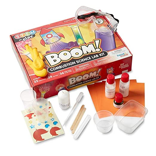 SCIENTIFIC WHIZ Science Set for Kids Polymer Beads /& More Including Volcano Science kit Over 20 Science Experiments