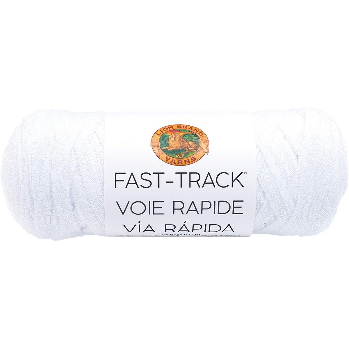 Airstream White Cotton 19.05 x 8.89 x 8.89 cm Lion Brand Yarn Company Lion Brand Yarn 521-100 Fast Track