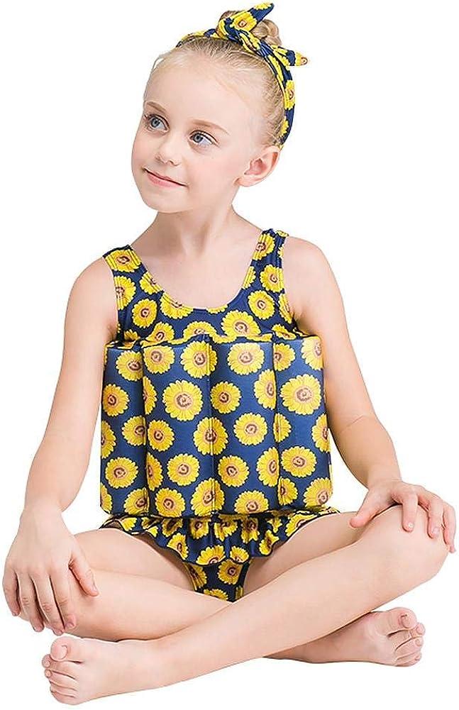 IMEKIS Costume da Bagno Intero da Ragazzo Bambina Costumi con Galleggiabilit/à Regolabile Costume da Bagno Galleggiante Imparare a Nuotare Tuta Gilet da Spiaggia Abbigliamento da Nuoto 18 Mesi-6 Anni