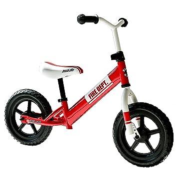 Rebel Fire Department - Bicicleta Infantil de 12 Pulgadas, Unisex ...