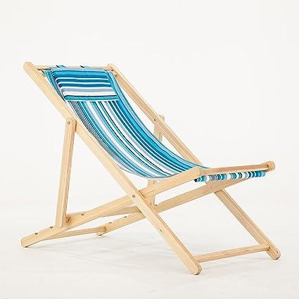 Amazon.com: Silla de playa plegable para uso al aire libre ...