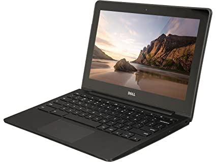 Dell ChromeBook 11 -Intel Celeron 2955U, 4GB Ram, 16GB SSD, WebCam, HDMI,  (11 6 HD Screen 1366x768) (Renewed)