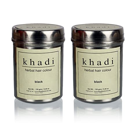 6ae22deb64d6c Buy Khadi Swati Herbal Black Henna - 150g (Set of 2) Online at Low Prices  in India - Amazon.in