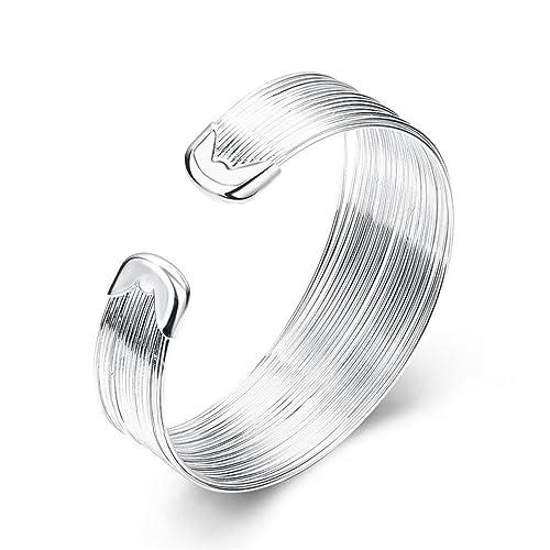 b5b111b82fa Amazon.com  Kacon 925 Sterling Silver Filigree Cuff Bracelet