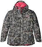 Columbia Girls Nordic Jump Jacket, Black Print, Small