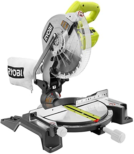 Ryobi 14-Amp 10 in. Compound Miter Saw in Green
