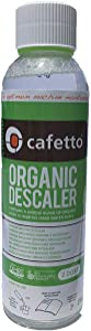 Cafetto Liquid Organic Descaler - Universal Descaling Solution for Keurig, Nespresso, Delonghi and All Single Use Coffee and Espresso Machines